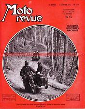 MOTO REVUE 1170 VESAP 54 GIMA 250 à moteur AMC Paloma Moteur BML 705 MILAN 1953