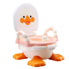 2 In 1 Baby Potty Pink Duck Training Urinal Detachable Toddler Toilet Trainer