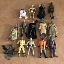 1997 + Star Wars Kenner action figure lot LFL Darth Vader no helmet rifles