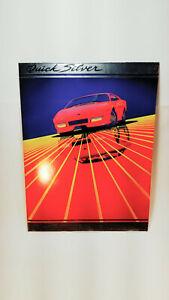 Quick Silver Trapper Keeper Mead Portfolio Sports Car Red 1980's 33244