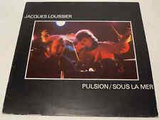 Jacques Loussier - Pulsion/Sous La Mer 1981 Netherlands CBS 84994 Vinyl LP Album