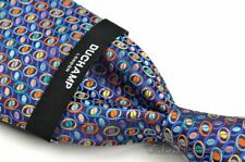 "DUCHAMP Colorful Geometric 100% Silk Mens Luxury Tie NWT - 3.00"""
