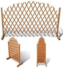 Wooden Expanding Trellis Wedding Party Decoration Garden Control Barrier Fence