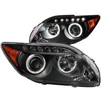 ANZO Projector Headlights Black w/ HALO (CCFL) For Scion TC 05-10 #121119