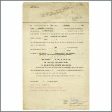 Derry & The Seniors 1960 Paramount Ent Performance Contract Bob Wooler Coll (UK)