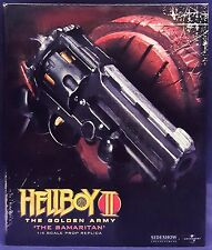 SIDESHOW COLLECTIBLES TOYS HELLBOY 2 MOVIE SAMARITAN GUN 1/4 SCALE PROP REPLICA
