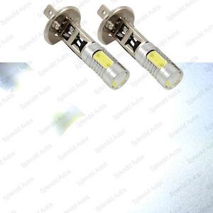 2 pc 7W Luxeon Cree Xenon White COB H1 LED Driving or Fog Light Bulbs