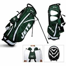 Brand New Team Golf Nfl New York Jets Fairway Stand Bag 32028