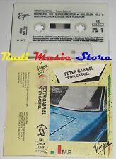 MC PETER GABRIEL Omonimo 1977 ITALY VIRGIN CHCK 7039 no cd lp dvd vhs
