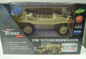 VW Dare to Swim Type 166, RC Model, Torro, Sand , 1:16, New
