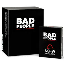 Bad People (The Complete Set) The Party Game You Probably Shouldn't Play + NSFW