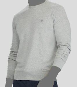 $125 Polo Ralph Lauren Men's Gray Pullover Crew-Neck Sweater Sweatshirt Size L