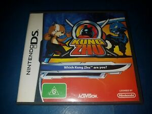 NINTENDO DS KUNG ZHU CASE & BOOKLET ONLY (NO GAME)