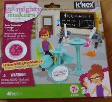 Jess' Jammin' Garage Mighty Makers K'Nex Construction Building Toy Knex