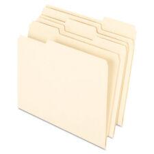 Pendaflex Earthwise 100% Recycled Paper File Folder 1/3 Cut Letter Manila 100
