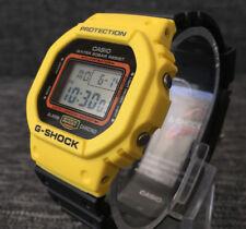 CASIO G SHOCK DW-5600TB-1 LIMITED MODEL BLACK & YELLOW DIGITAL BRAND NEW