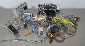 C178689 Eaton PLC Logic Controller D200PR4C CPU w/Temp Controller, Relays, Valve