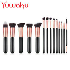14Pcs Pro Makeup Brush Tool Big Powder Foundation Eyebrows Face Lip Brushes New