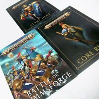 --- Age of Sigmar CORE RULES + BATTLE of GLYMMSFORGE --- book rule warhammer AoS