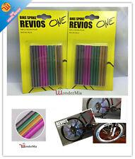 2-Pack Bike Spoke Reflective Stripe Wheel Bicycle Light Snap-on (4 COLOR) CA