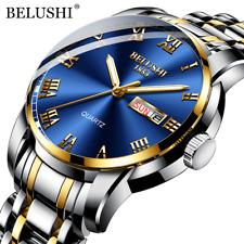 BELUSHI Luxury Men's Watch - Waterproof - Stainless Steel - Quartz