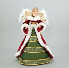 Traditional Angel Tree Topper - Christmas - Katherine's Collection 28-728522