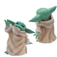 Grogu Baby Yoda Action Figure Mandalorian, The Child, Star Wars Collectible