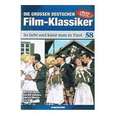 SO LIEBT UND KÜSST MAN IN TIROL / FILMKLASSIKER DVD / HARALD JUHNKE