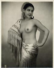 Photo Studio Pc Argentique Curiosa Vers 1930