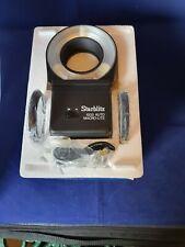 Starblitz 1000-Auto Macro-Lite w/49,52&55mm Adaptor Rings