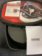 "Craftsman 10"" 2800 Random Orbits Single Speed Buffer/Polisher  910723 Open Box"