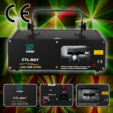 310mW laser Light giallo misto verde rosso Len discoteca DJ laser DMX Party