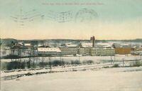 PLAINFIELD CT - Woolen Mills and Almyville Birdseye View