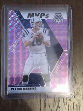 2020 Panini Mosaic Peyton Manning Pink MVP Prizm 45/49