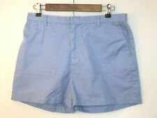 Ralph Lauren Polo Jeans Co Womens High Waist Baby Blue Shorts Size P 12
