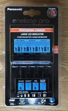 PANASONIC ENELOOP PRO PROFESSIONAL CHARGER BQ-CC65 LED-USB 100/240V BRAND NEW UK