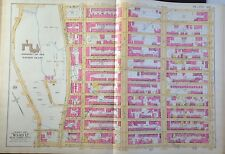 1891 E ROBINSON HARLEM SACRED HEART CONVENT MANHATTAN NY ATLAS MAP 125-136 ST