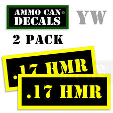 "12 GA 00 Ammo Can Labels for Ammunition Case 3.5/"" x 1.50/"" stickers decal 2PACK"