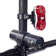 NEW TURA FORCE-7 CYCLE HI POWER LIGHT SET - FRONT & REAR - BIKE BICYCLE MTB ROAD