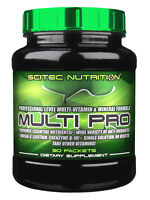 Scitec Nutrition Multi-Pro Plus 30 Packs Premium High Level Multi Vitamins