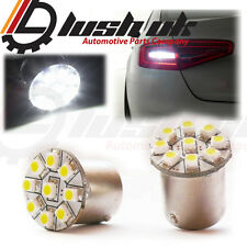 *REVERSE DRL SIDELIGHT LIGHT LAMP UPGRADE BAU15S CANBUS BULBS WHITE 9 SMD LED