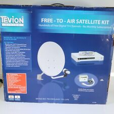 TEVION DIGITAL SATELLITE SYSTEM Free to view tv. Never Used.