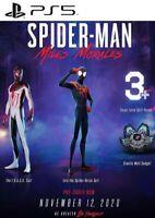 Spider Man Miles Morales DLC PS5 Playstation 5 Digital Download Instant 24/7