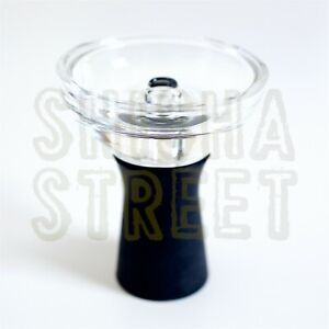 High Temperature Resistance Glass & Silicone Tobacco Bowl For Hookah Shisha UK