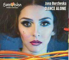 "MACEDONIA EUROVISION 2017 ENTRY JANA BURCHESKA "" DANCE ALONE"" PROMO CD"