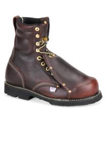 "Carolina 8"" Metguard Boot Made in the USA! INT HI STEEL TOE"