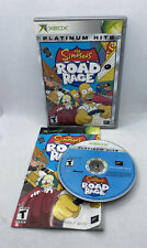 Simpsons Road Rage (Microsoft Original Xbox, 2001) CIB Complete, Tested!