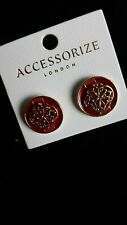 Accessorize Button Style Earrings