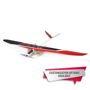 4 -5Ch RC Sailplane 1.8m wing span Passer Ultimate EP FRP Thermal Glider-red ARF