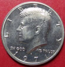 "ERROR COIN<<1971-D  ""BROADSTRIKE"" KENNEDY HALF DOLLAR, Double-Rimmed Coin ERRORS"